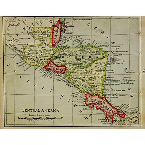Central America, 1899