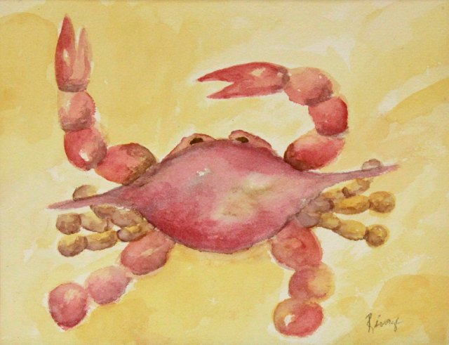 Red Crab w/ Gold