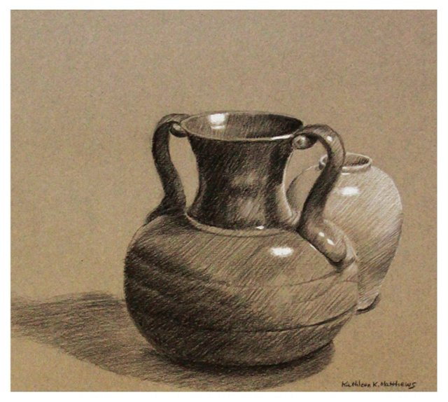 Vase Drawing