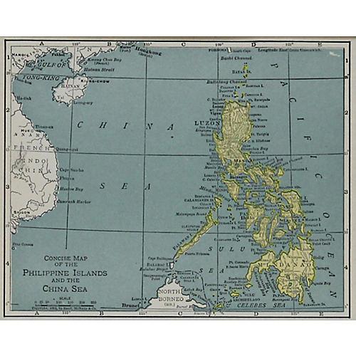Philippine Islands & China Sea, 1911