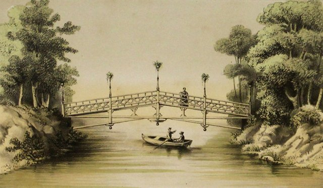 Asian Bridge, C. 1860