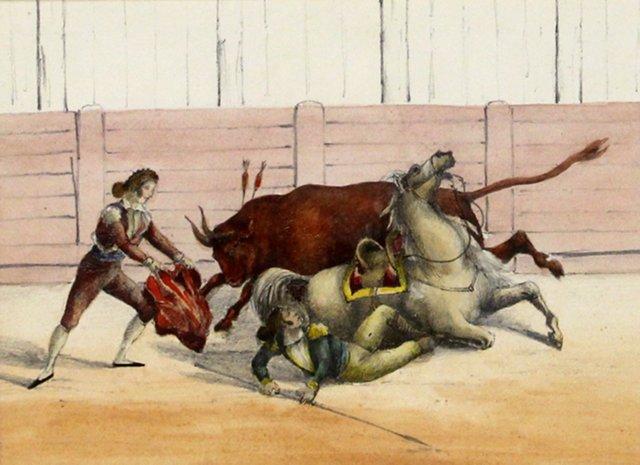 Bullfight w/ Matador