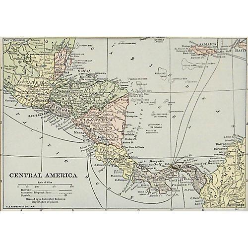 Central America, 1929