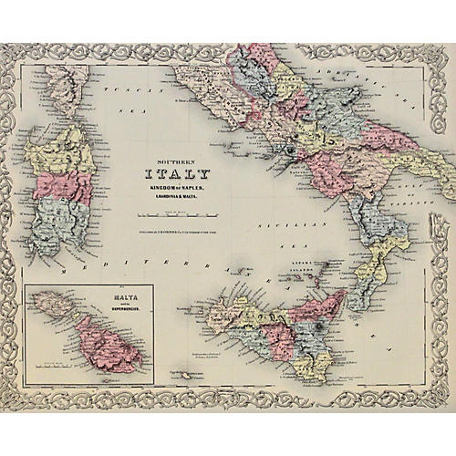 Southern Italy, 1856