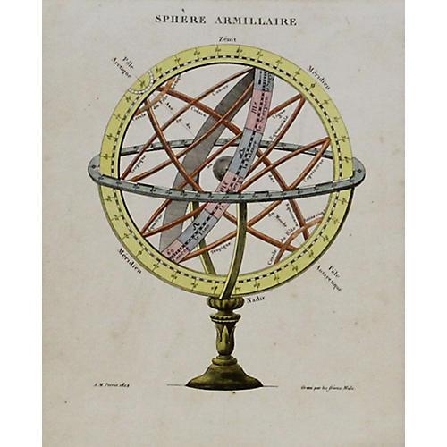 Armillary Sphere, 1822
