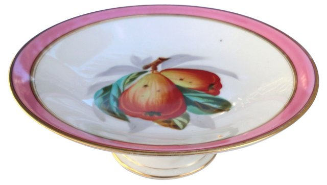 19th-C. French Compote