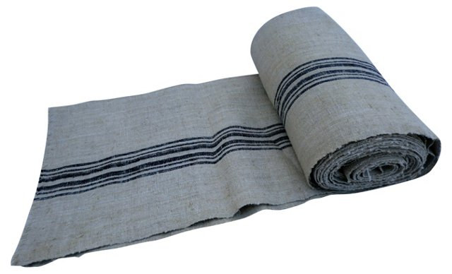 Homespun Linen Roll, 6.9 Yds