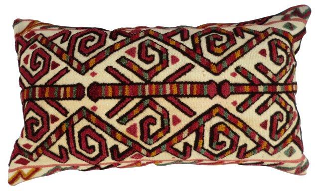 Turkish Stumpwork Pillow