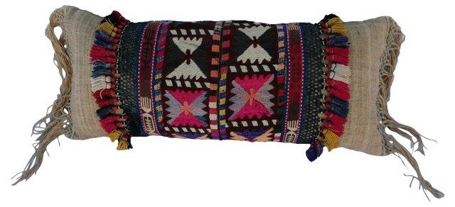 Tribal  Tassel  Pillow