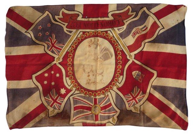 King George VI Coronation Flag