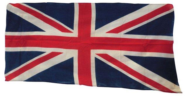 British Union Jack Flag, C. 1940