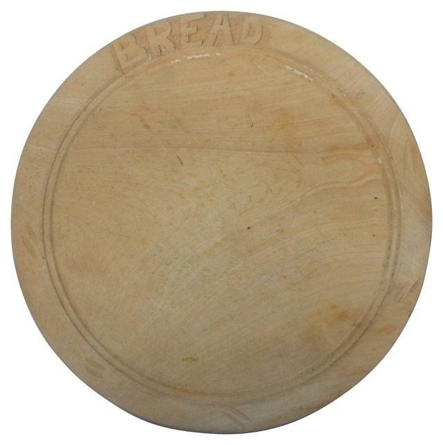 English Bread Cutting Board