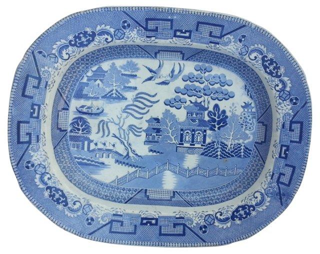 Canton Victorian Wall Platter
