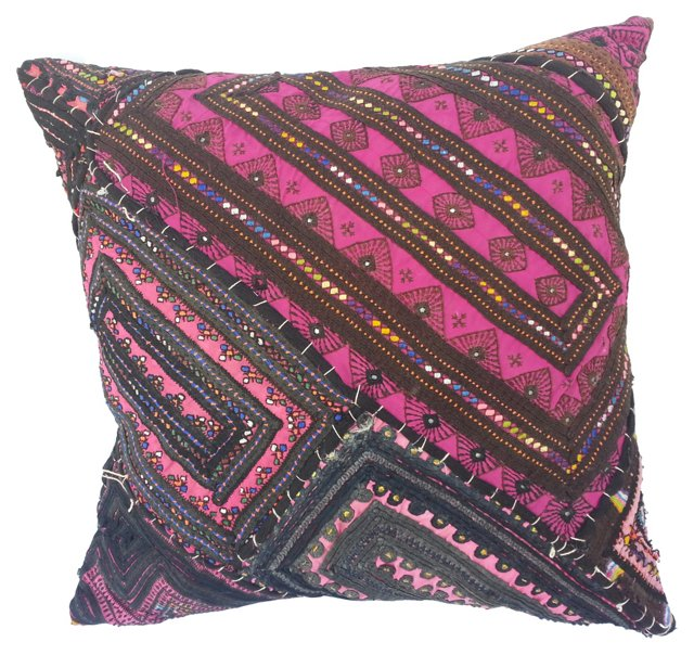 Rajasthani Gypsy Quilt Pillow
