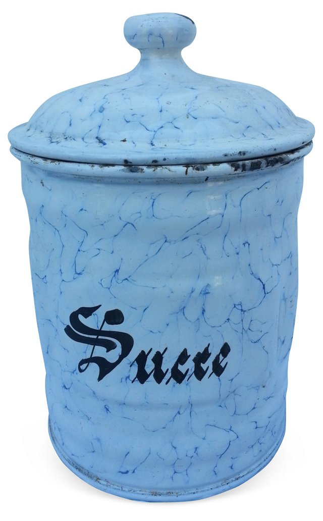 French Sugar Canister