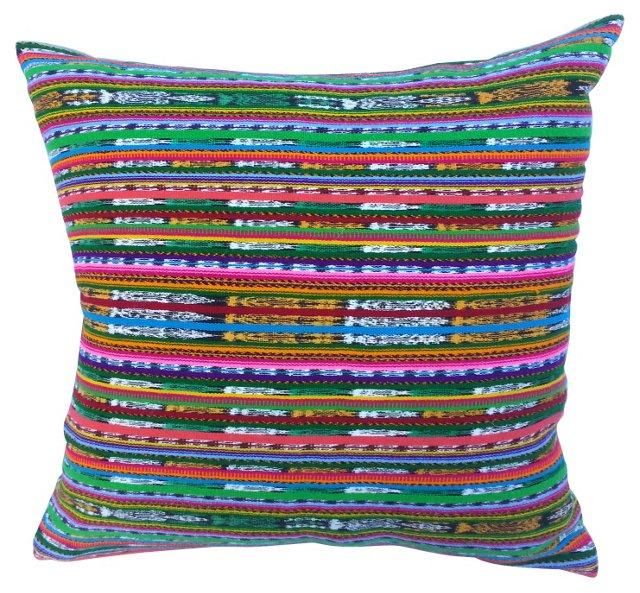 Multicolor   Tribal Pillow