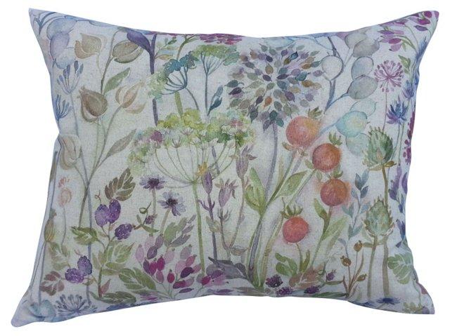 Pastel Fall Shades  Linen Pillow