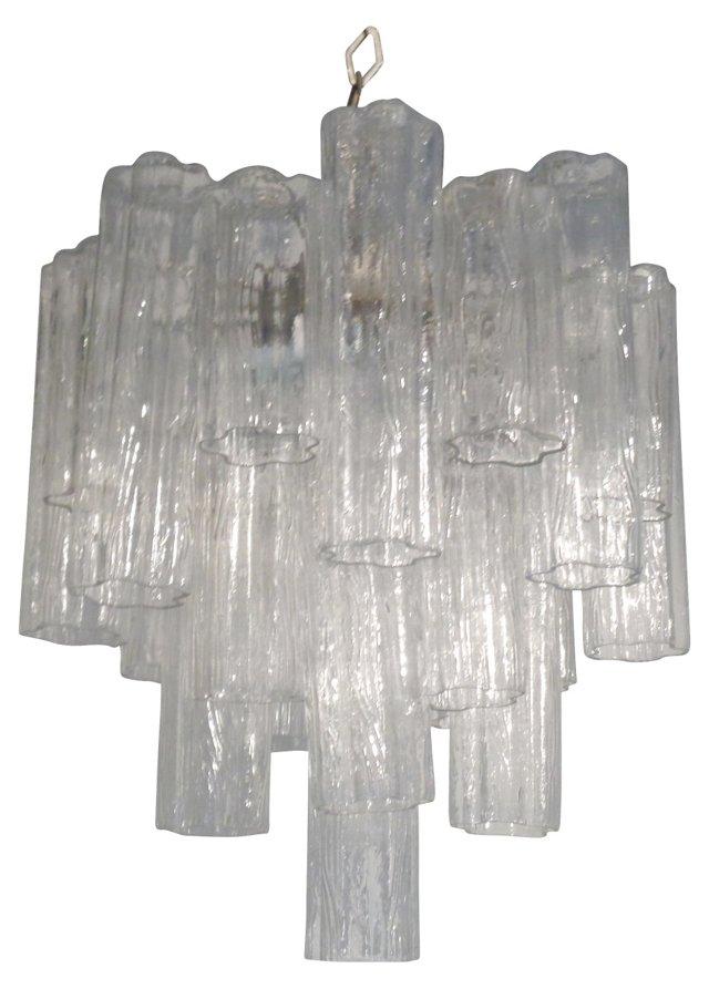 Glass Tronchi Chandelier