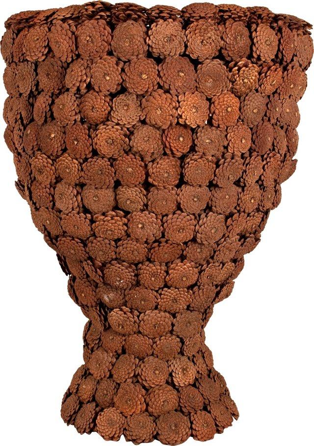 Large Pinecone Vase, c1940