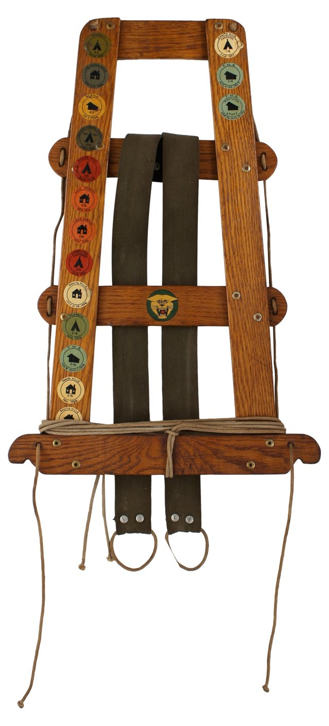 1950s Boy Scout Tack     Frame
