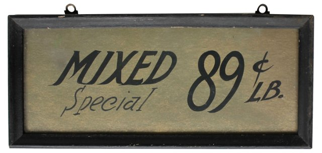 Mixed Special Store Sign