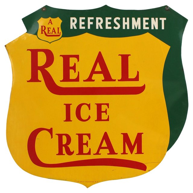 Vermont Ice Cream Sign