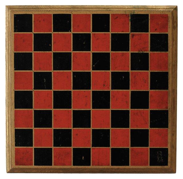 1940s Checkerboard