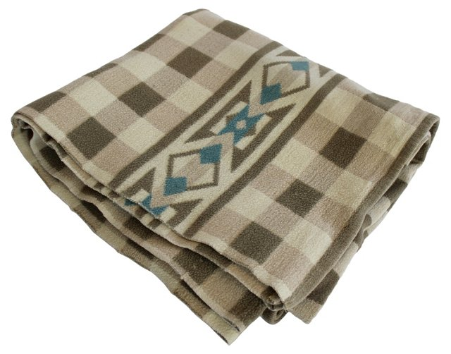Checked Camp Blanket
