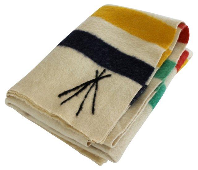 Hudson's Bay-Style  Blanket