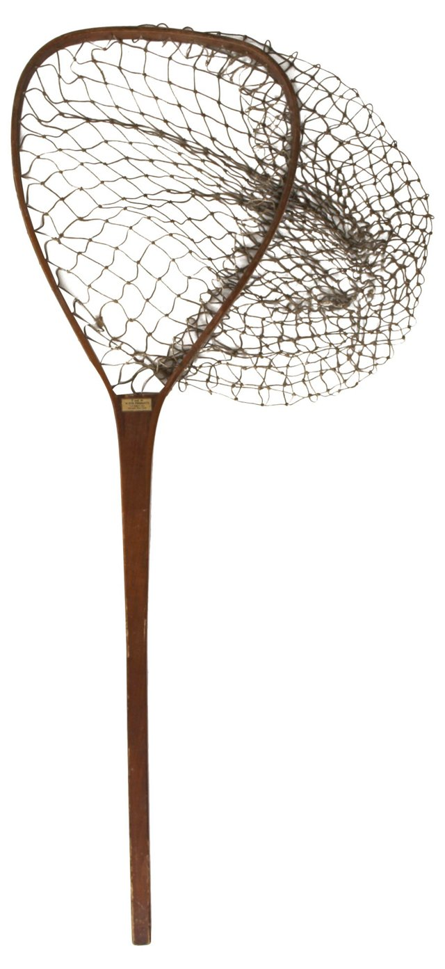 E & M Wood  Fishing Net