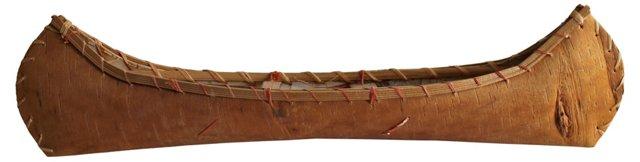 Souvenir  Birchbark   Canoe