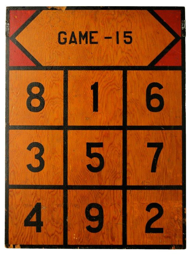 Criss Cross Game Board