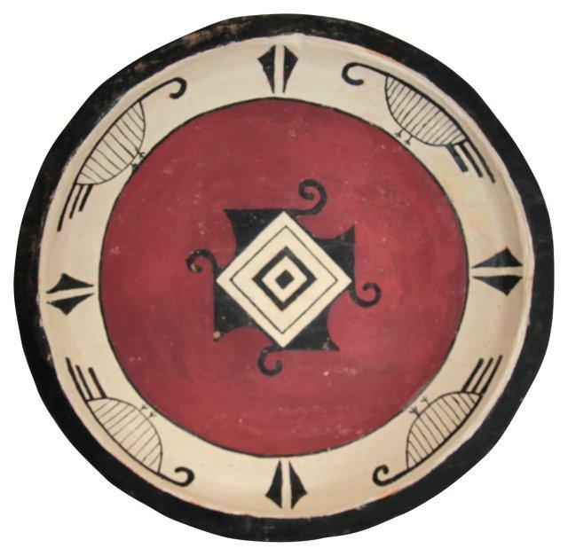 Native American Motif Bowl