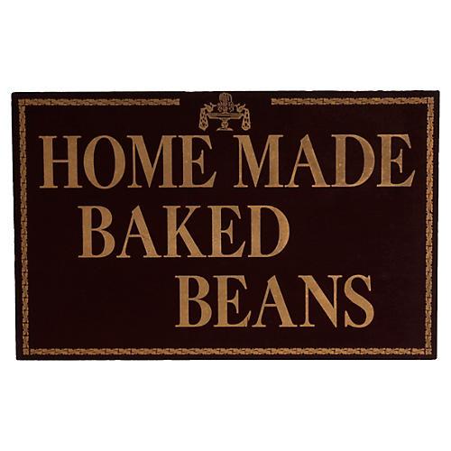 Baked Beans Restaurant Sign