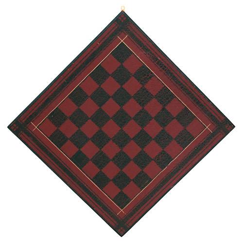 Red & Black Checkerboard