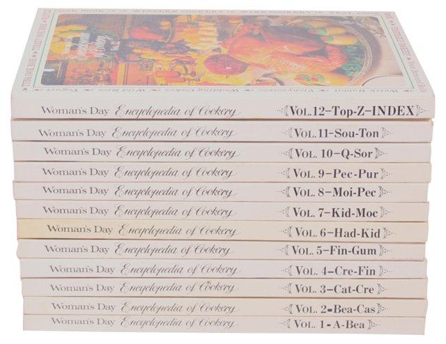 Encyclopedia of Cookery, 12 Vols