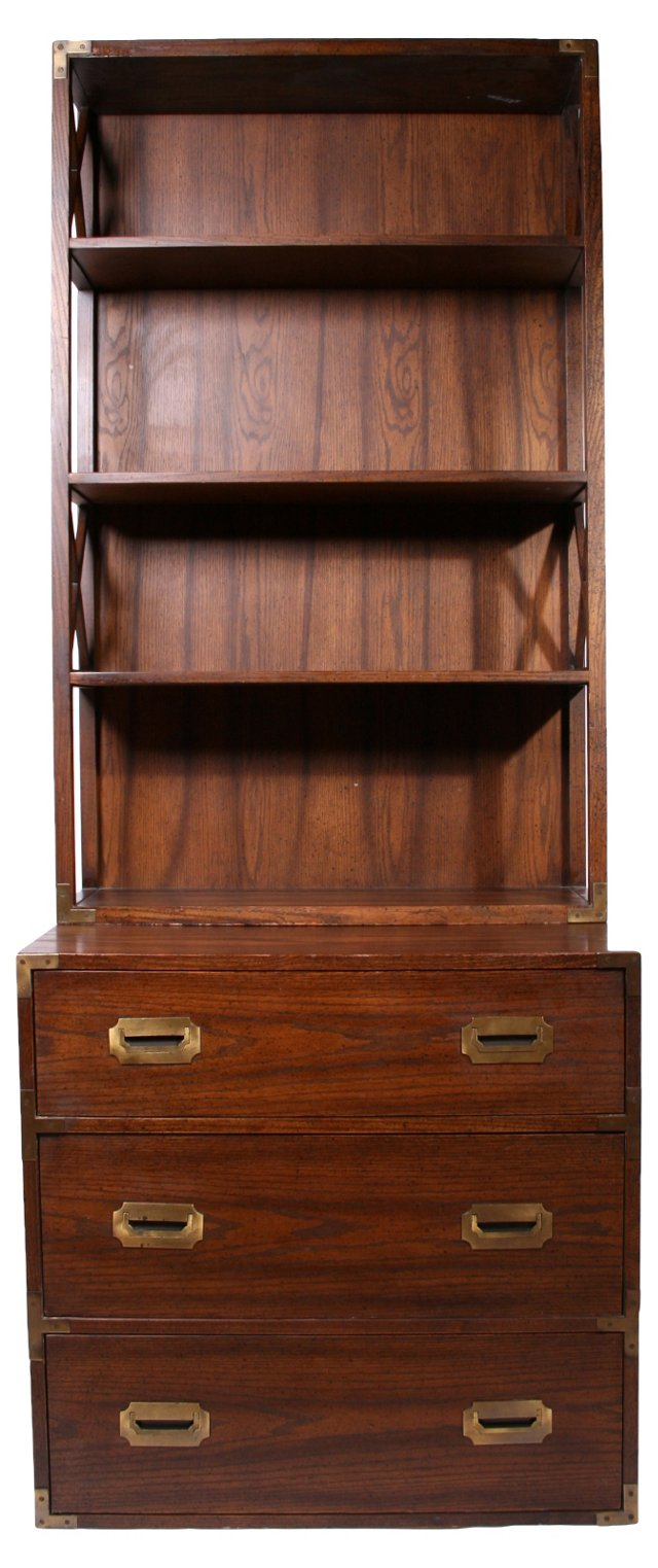 Campaign-Style  Cabinet