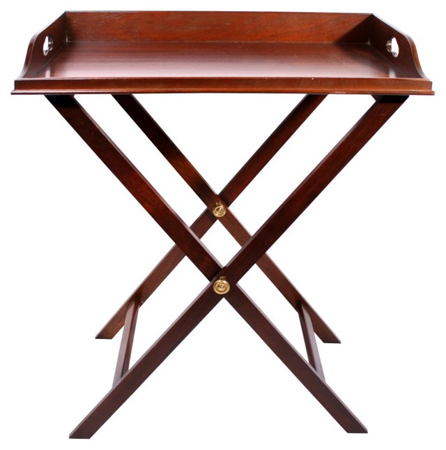 Butler's Tray   & Stand