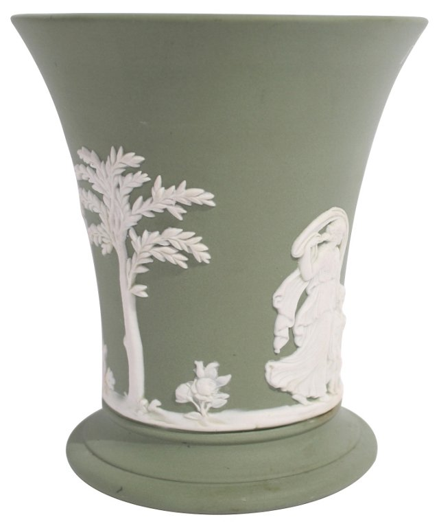 Green Wedgwood Cup