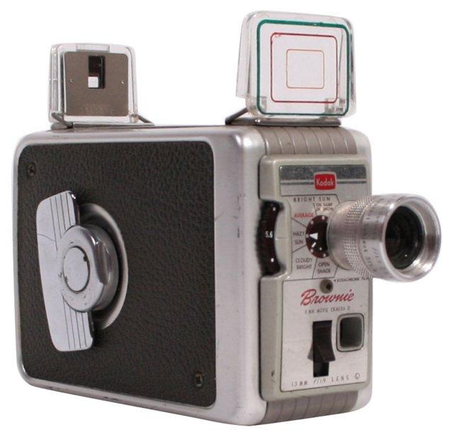Kodak Brownie 8mm Movie Camera