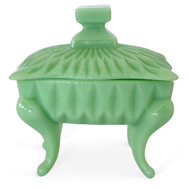 Jade Powder Dish