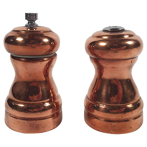 Copper Salt and Pepper Grinder