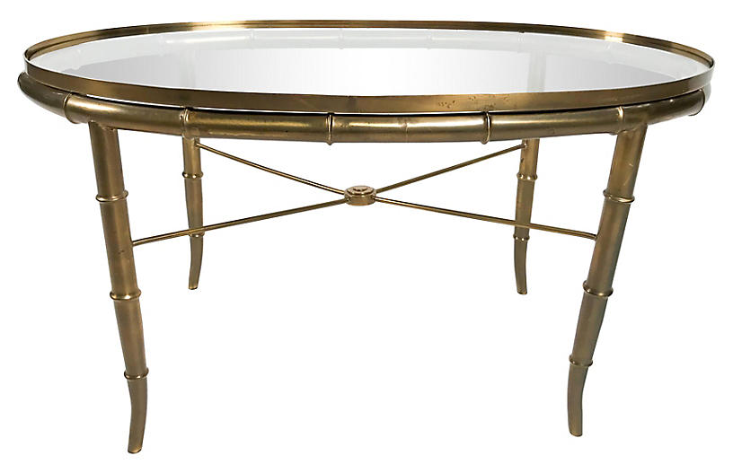 Bamboo-Style Coffee Table