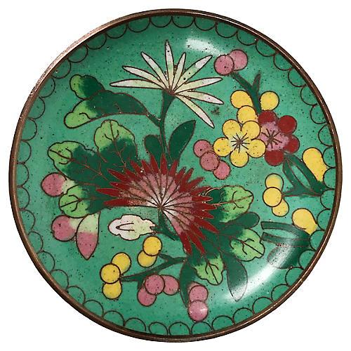 Cloisonné Trinket Dish