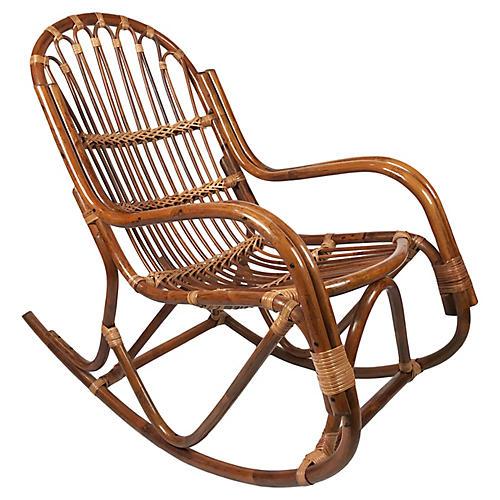 Albini Style Rocking Chair