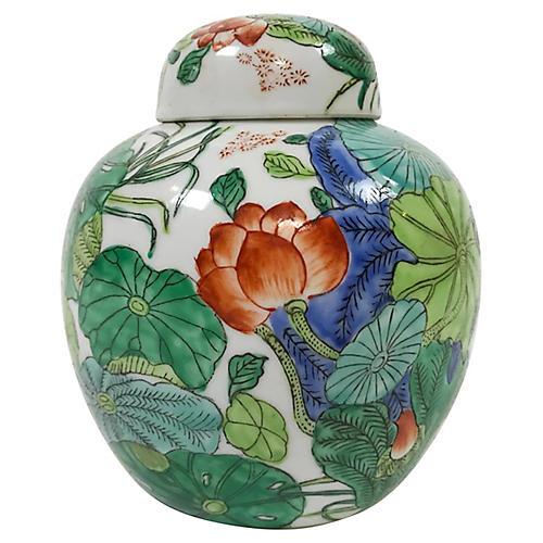 Japanese Porcelain Urn
