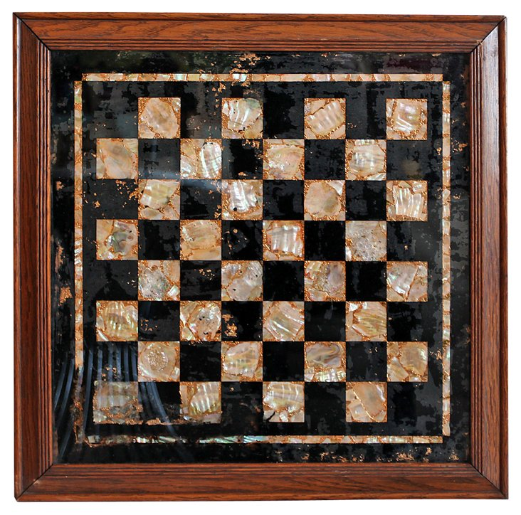 Framed    Checkerboard