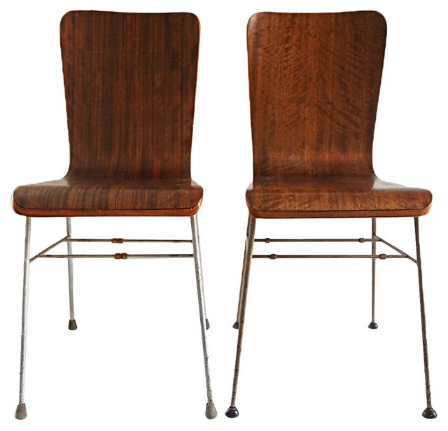 Bentwood   Chairs, Pair