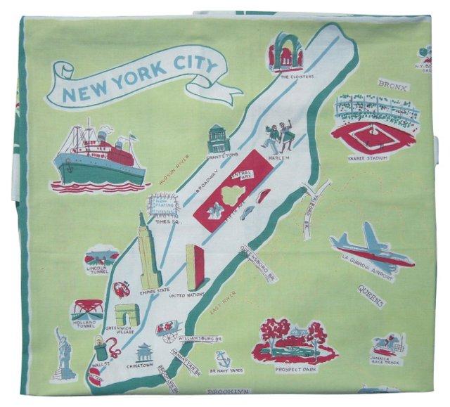 New York City Tablecloth