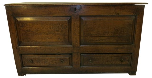 18th-C. English Mule Chest